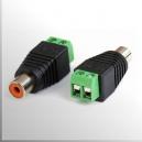 Conector Plug RCA - Hembra