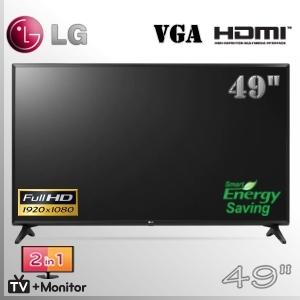 "Monitor TV 49"" Comercial FullHD LG HDMI - VGA - RCA"