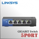 5 Puertos Switch Gigabit LinkSys 10/100/1000Mbps | Plug & Play