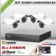 K2MN1A08B4D0S326 - KIT 4 cámaras XPROHD 1080p sensor SONY inside + CVR 8Ch Dahua