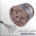 CABLE FTP CAT6 Exterior 305Mts. Apantallado 23AWG CCA