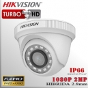 Hikvision Turbo FHD DomeCam 1080p IR Sensor CMOS 2Mp 2.8mm