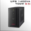 UPS APC 1400Va - Unidad de respaldo de eneregía
