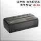 UPS APC 650Va/375W 4 Tomas conexión Universal 220V