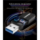 5.8 y 2.4Ghz Adaptador y Repetidor USB 3.0 WIFI inalámbrico 1300Mbps