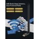 5.8 y 2.4Ghz Adaptador y Repetidor USB WIFI inalámbrico 650Mbps