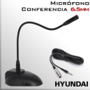 Micrófono Conferencia Cuello Cisne flexible 40cms.