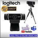 Webcam Logitech C922 PRO HD Stream Full HD 1080p