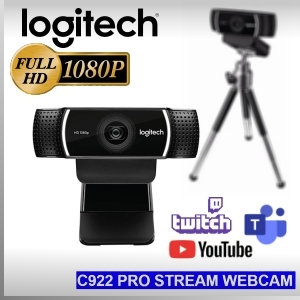 Webcam Logitech C922 PRO HD Stream Full HD 1080p