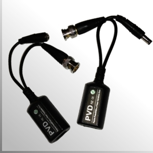 Video Balun Pasivo (V/Dc) 4MP HD-CVI / AHD / Análogo tradicional/ HD-TVI