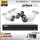 KIT 8CH-1080P 4CAM (4xBox) CMOS - DAHUA DMSS K2MN5108B4D0F37