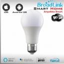 1x AMPOLLETA LED WIFI SMART SOCKET E27 By Broadlink Bestcon