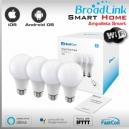 4x AMPOLLETA LED WIFI SMART SOCKET E27 By Broadlink Bestcon