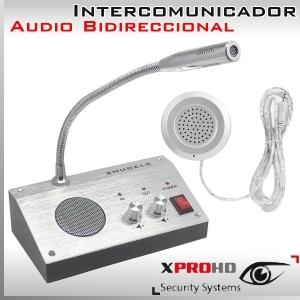 Intercomunicador con audio bidireccional Micrófono y Parlante - Citofono