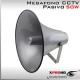 MEGAFONO CCTV Pasivo | Altavoz | Alta Potencia 50W | IP66