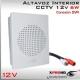 Altavoz Megafono 12v Amplificado 6W Volumen regulable