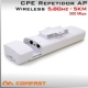 CPE Repetidor WiFi 5.8Ghz Exterior 300Mbps - Alcance 5KM