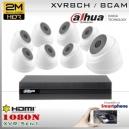 KIT 8CH-1080N 8CAM (8xDom) CMOS - DAHUA DMSS DH-K2MN1A08B0D8