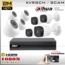 KIT 8CH-1080N 8CAM (4xBox+4xDom) CMOS - DAHUA DMSS DH-K2MN1A08B4D4