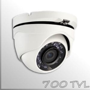 """3651E - Cámara Domo Profesional- 1/3"""" SONY-E CCD HAD -700TVL"""
