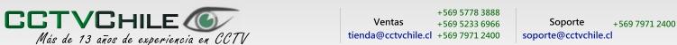 CCTVChile - La verdadera Tienda Virtual -- Cámaras de seguridad - DVR - Video Balun - Nocturna - Cables - UTP - Vigilancia - CCTV