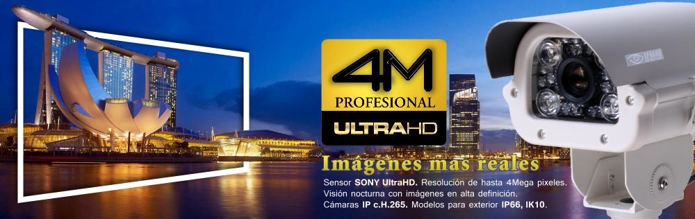 Camaras 4M IPC Sony UltraHD 4Mpx- CCTVChile.cl