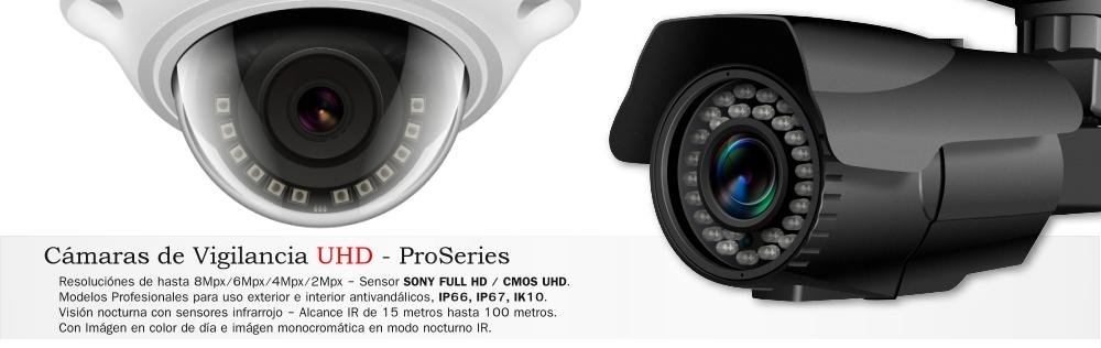 Camaras Vigilancia CCTV CVI IP AHD CVBS FullHD HD 8Mpx