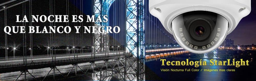 Camaras Tecnologia StarLight - Color de noche