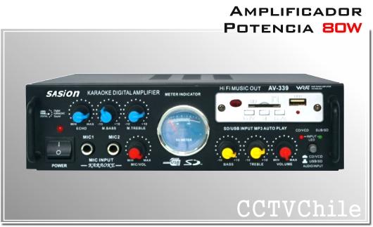 Amplificador de Audio y sonido - Alta potencia