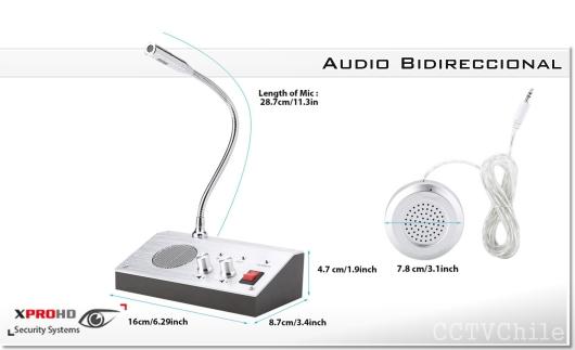 Intercomunicador Citófono Parlante Tipo Cajas audio bidireccional banco hotel cajero