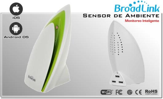 A1 Chile Sensor de ambiente inteligente Smart   PLUG CHILE   BROADLINK ENCEDIDO A DISTANCIA SMARTPHONE