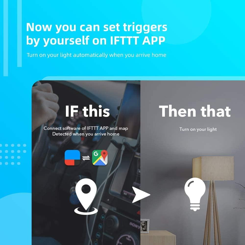 Ampolleta WIFI luz fría blanca Smart Bulb Bestcon Google Assistant RMPRO Chile Control remoto universal inteligente | Smart RMPRO | Smart CHILE | BROADLINK CONTROL REMOTO A DISTANCIA SMARTPHONE
