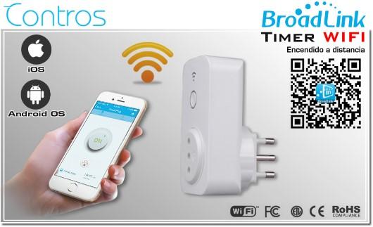 Broadlink TIMER INTELIGENTE WIFI - SMART TIMER WIFI | PLUG CHILE | BROADLINK ENCEDIDO A DISTANCIA SMARTPHONE
