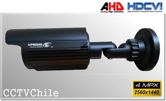 Camara CVI Hibrida AHD TVI CVBS BoxCam XPROHD - Sensor SONY 4MPX - Antivandalica - Vandalproof - IP67 - Vandalproof - Weatherproof