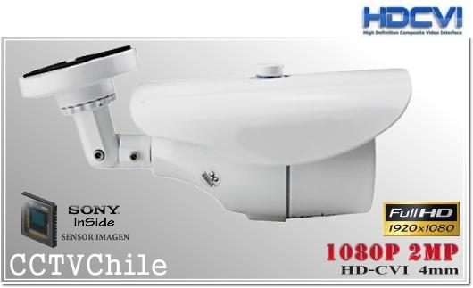 Camara CVI BoxCam XPROHD - Sensor SONY 1080p - Antivandalica - Vandalproof - IP66 - IP67 - Vandalproof - Weatherproof