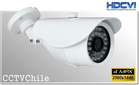 Camara CVI BoxCam XPROHD - Sensor SONY 4MPX - Antivandalica - Vandalproof - IP67 - Vandalproof - Weatherproof