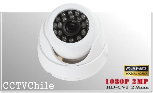 Camara CVI DomeCam XPROHD - SONY 1080p - Vandalproof - IP66 - IP67 - Vandalproof - Weatherproof