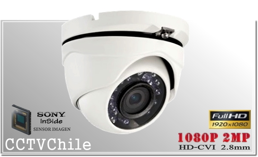 Camara CVI DomeCam XPROHD - Sensor SONY 720p - SONY 1080p - Antivandalica - Vandalproof - IP66 - IP67 - Vandalproof - Weatherproof