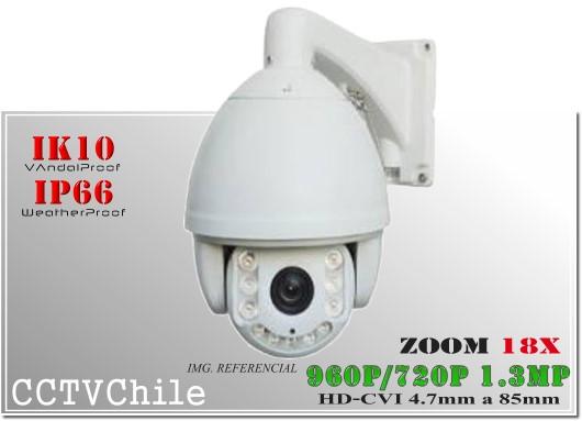 Camara CVI PTZCam XPROHD - Sensor SONY 720p - SONY 1080p - Antivandalica - Vandalproof - IP66 - IP67 - Vandalproof - Weatherproof - ZOOM - 20x - 22x - 30x - 26x