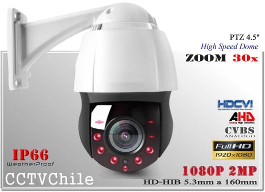 Camara Hibrida CVI AHD TVI CVBS PTZCam XPROHD - Sensor SONY 720p - SONY 1080p - Antivandalica - Vandalproof - IP66 - IP67 - IK10 - Vandalproof - Weatherproof - ZOOM - 20x - 22x - 30x - 26x