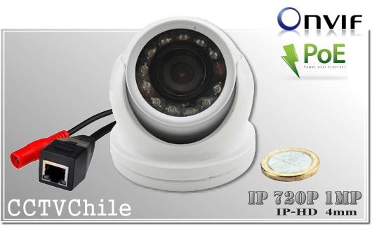 Camara IP Digital Mini DomeCam XPROHD - Sensor SONY 720p - SONY 1080p - Antivandalica - Vandalproof - IP66 - IP67 - Vandalproof - Weatherproof - Onvif - POE - NVR