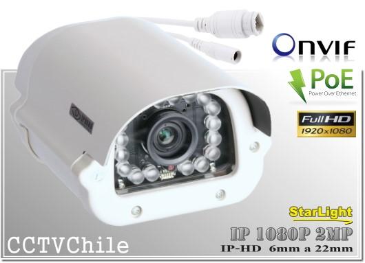 Camara IP Starlight Digital BoxCam XPROHD - Sensor SONY 1080p FullHD - Antivandalica - Vandalproof - IP66 - IP67 - Vandalproof - Weatherproof - Onvif - POE - NVR