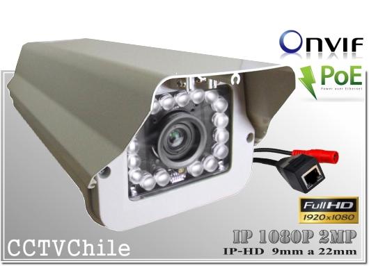 Camara IP Digital BoxCam XPROHD - Sensor SONY 1080p FullHD - Antivandalica - Vandalproof - IP66 - IP67 - Vandalproof - Weatherproof - Onvif - POE - NVR
