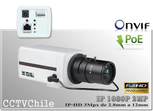 Camara IP Digital BoxCam XPROHD - Sensor SONY 720p - SONY 1080p - Antivandalica - Vandalproof - IP66 - IP67 - Vandalproof - Weatherproof - Onvif - POE - NVR