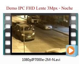 KIT Camara IP Moonlight System - Camara placa patentes - Demo Noche