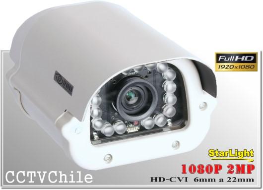Camara CVI StarLight BoxCam XPROHD - Sensor SONY 720p - SONY 1080p - Antivandalica - Vandalproof - IP66 - IP67 - Vandalproof - Weatherproof