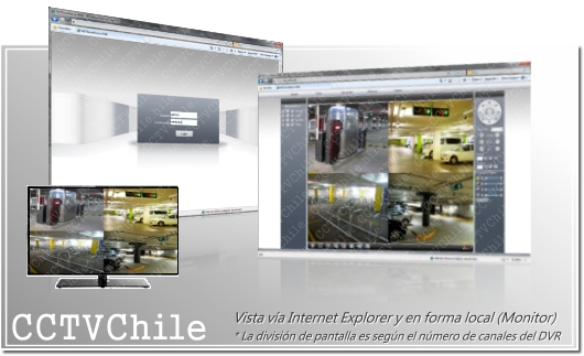 Acceso Remoto y Local - Navegador Web - Firefox - Safari - Chrome - IE