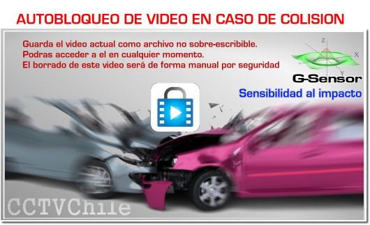 CARDVR - DVR de Auto - Vehiculo - Camara Dual - Camara trasera - Front camera - XPROHD - FULLHD - 1080p - 720p - G30x - CDG30 - GSensor - G-Sensor