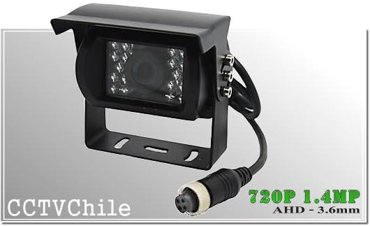 Camara Vehiculo AHD CamCam XPROHD - Sensor SONY 720p - SONY 1080p - Antivandalica - Vandalproof - conexion aviacion aviador - IP67 - Vandalproof - Weatherproof