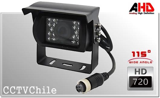 Camara Vehiculo AHD CamCar XPROHD - Sensor SONY 720p - SONY 1080p - Antivandalica - Vandalproof - conexion aviacion aviador - IP67 - Vandalproof - Weatherproof Gran Angular